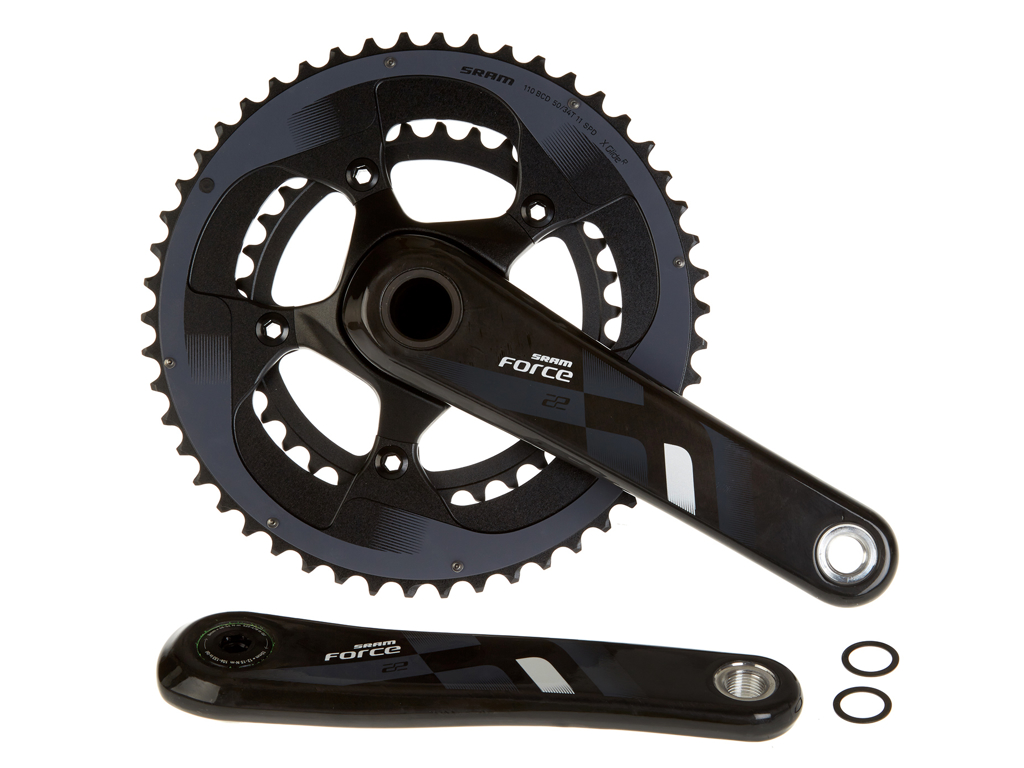 Sram Force 22 Compact - Kranksæt 50-34 tands - GXP
