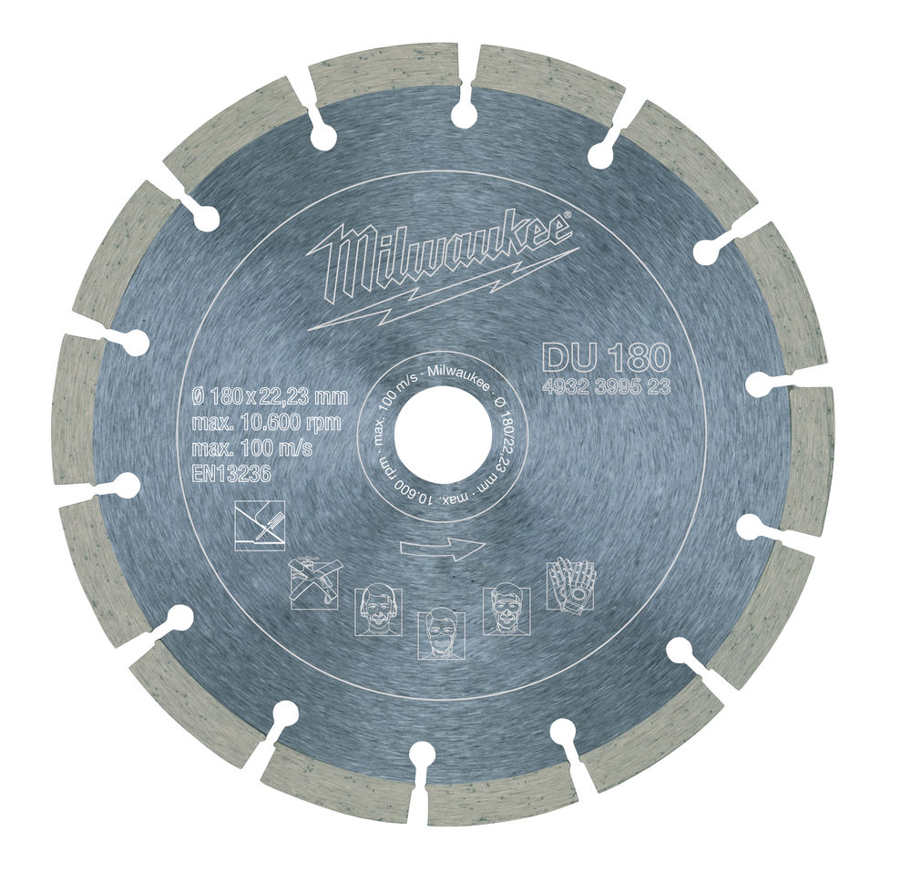 Milwaukee Diamantskive DU 180x22,2