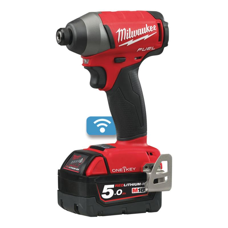 "MILWAUKEE M18 ONEID-502X FUELâ""¢ ONE-KEYâ""¢SLAGSKRUEMASKINE MED POWERSTATEâ""¢ 4933451370."