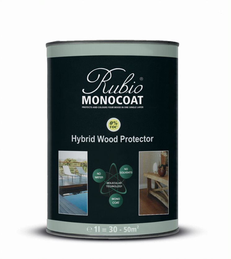 Rubio Monocoat Hybrid Wood protector - A-comp. White - 1 L