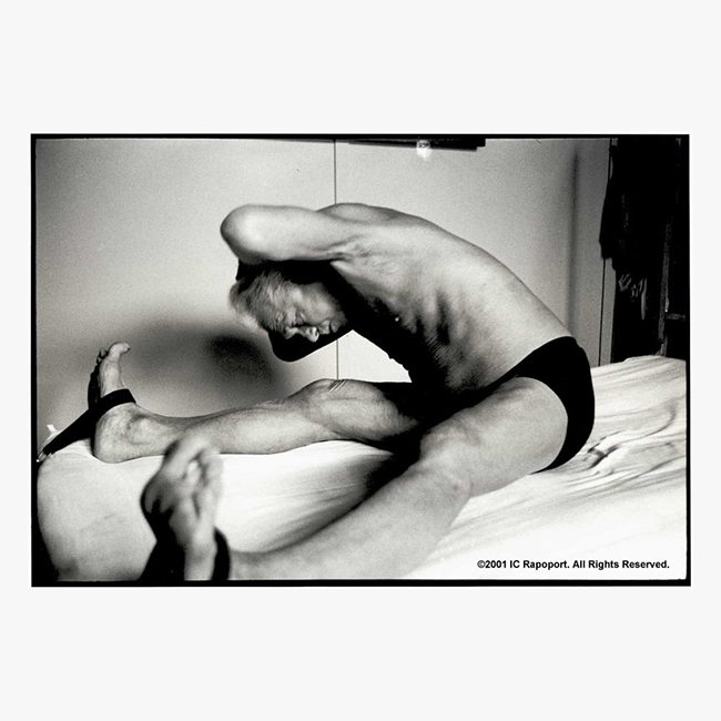 Joseph Pilates Photographs - The Stretch