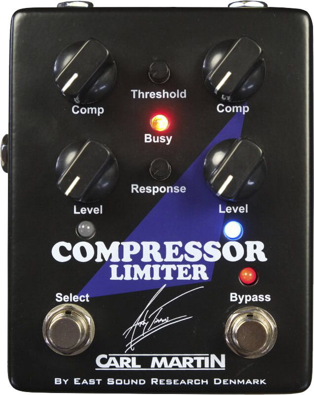 Carl Martin Andy Timmons Compressor guitarpedal